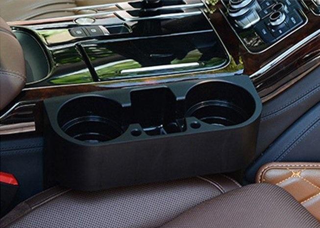 schwarz DHL Blitzversand neu Getränkehalter passend für alle Fahrzeuge